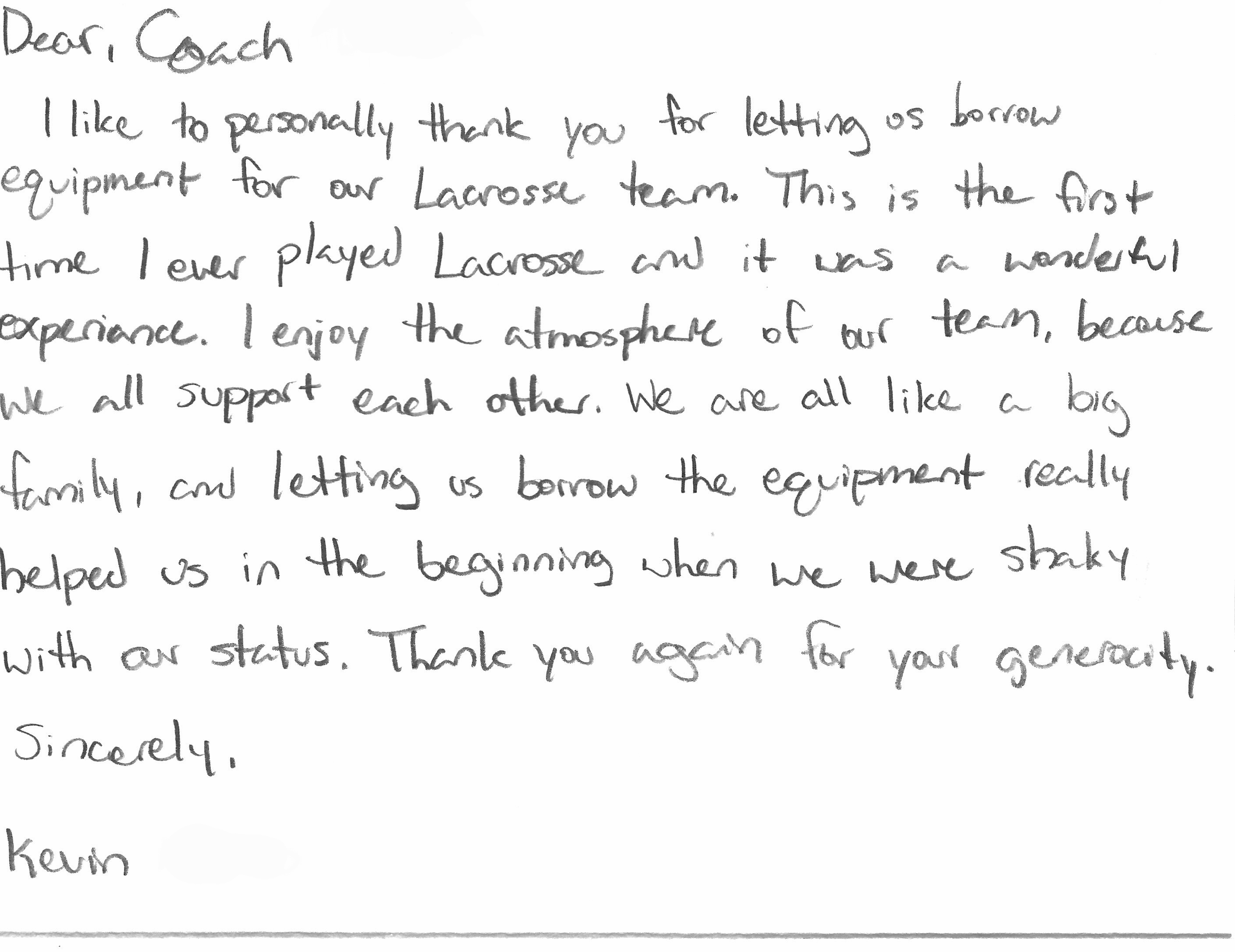 Thank you letter for coach image collections letter format formal thank you letters to coaches choice image letter format formal sample thank you letter for coach expocarfo